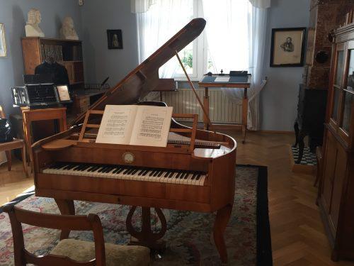 Stein-vleugel van Clara Schumann.