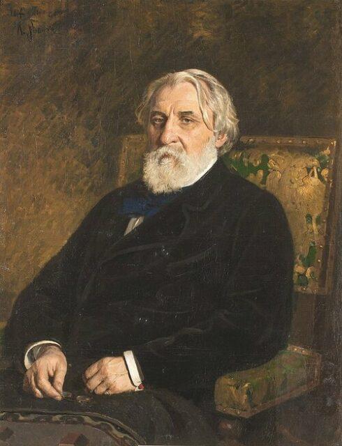 Ivan Toergenjev, geportretteerd door Ilja Repin (1874).