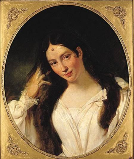 Maria Malibran als Desdemona, geportretteerd door François Bouchot.
