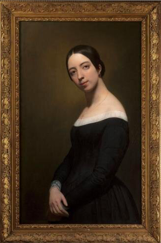 Pauline Viardot geportretteerd door Ary Scheffer (ca. 1841).