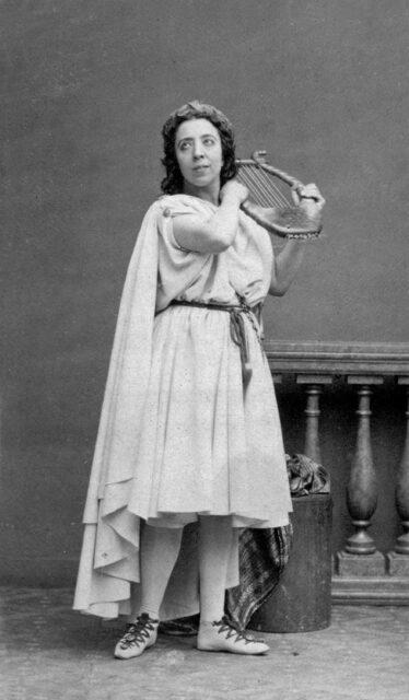 Orpheus in 'Orphée et Eurydice' van Berlioz.