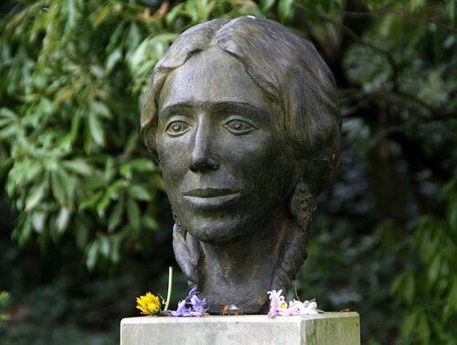 Buste in Baden-Baden.